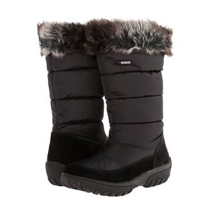 Spring Step Vanish Black Winter Snow Boots